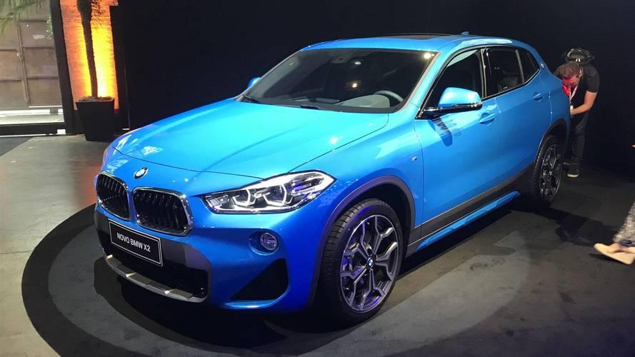 BMW revela versões do novo X2 no Brasil e promete 20 lançamentos