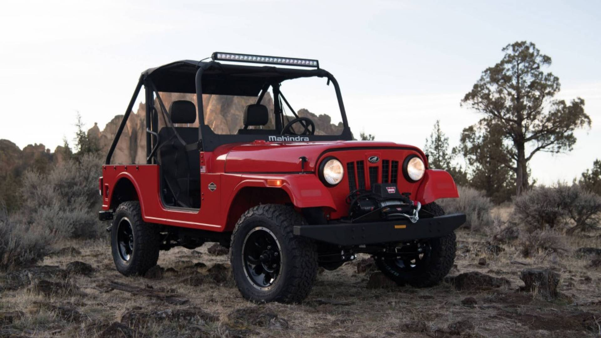 Mahindra Roxor Channels Original Jeep Cj Is Made In The Usa