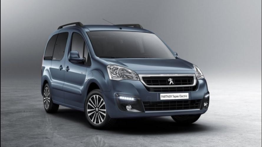 Peugeot Partner Tepee Electric, ecologico e modulare