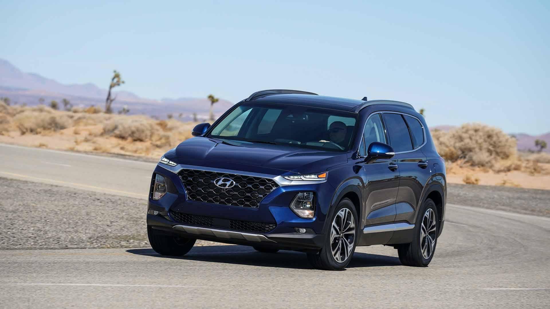 2019 Hyundai Santa Fe Starts At 25 500 550 More Than 2018my