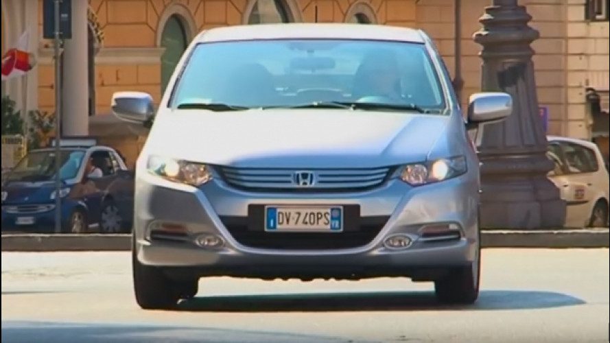 Honda Insight: l'ibrida tecnologica, al giusto prezzo [VIDEO]