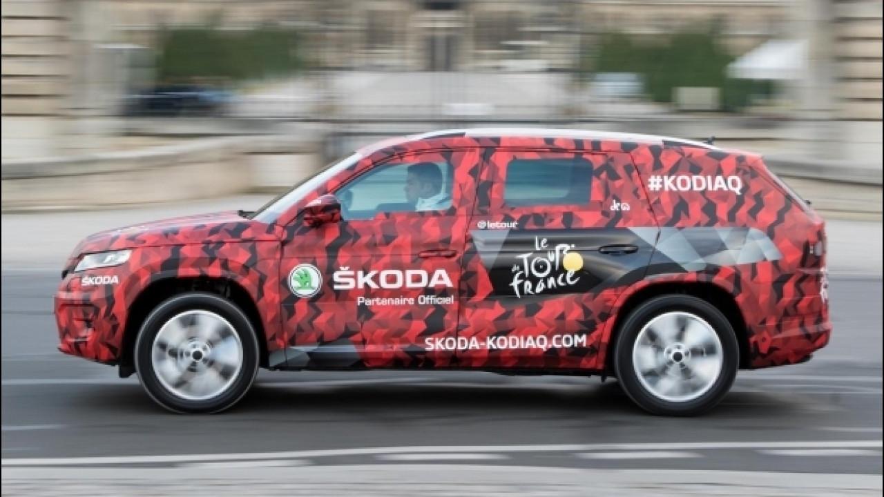 [Copertina] - Skoda Kodiaq, anteprima al Tour de France [VIDEO]