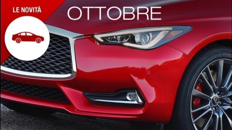 Novità auto, ad ottobre è boom di modelli inediti