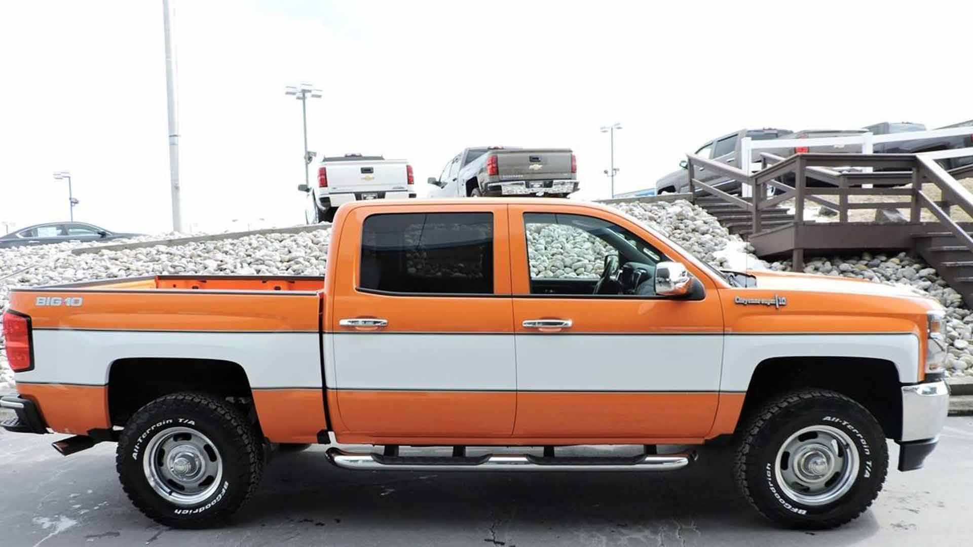 Chevy Silverado Gets Another Modern-Day Cheyenne Makeover
