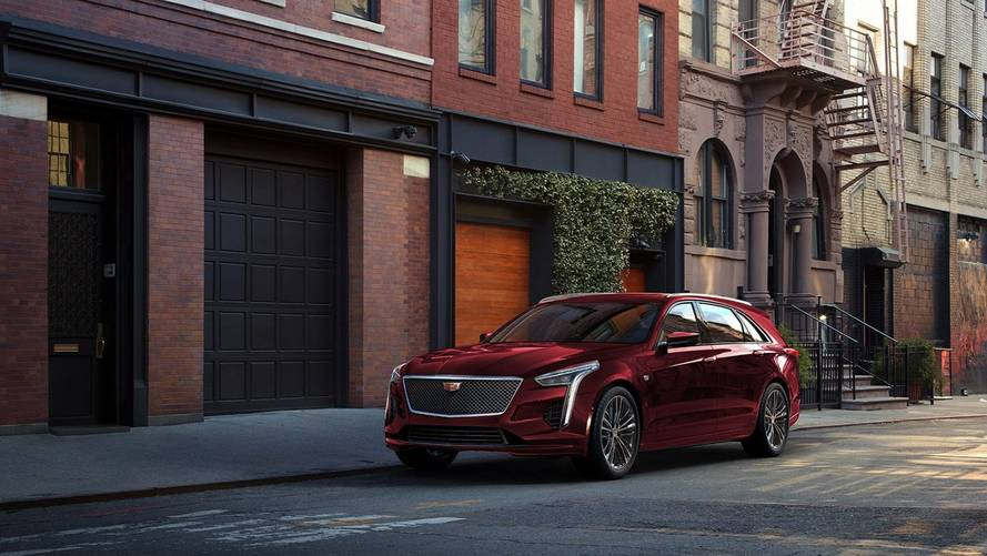 Cadillac CT6 V-Sport Wagon Is A Dreamy Idea
