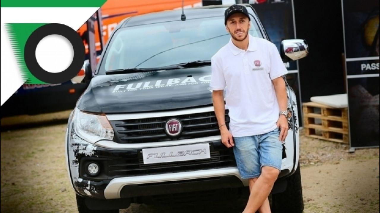 [Copertina] - Tony Cairoli alle prese con il Fiat Fullback [VIDEO]