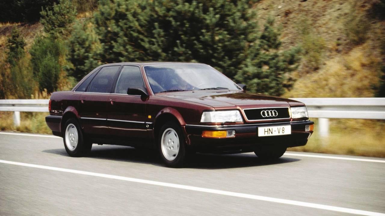 30 évvel ezelőtt - Audi V8