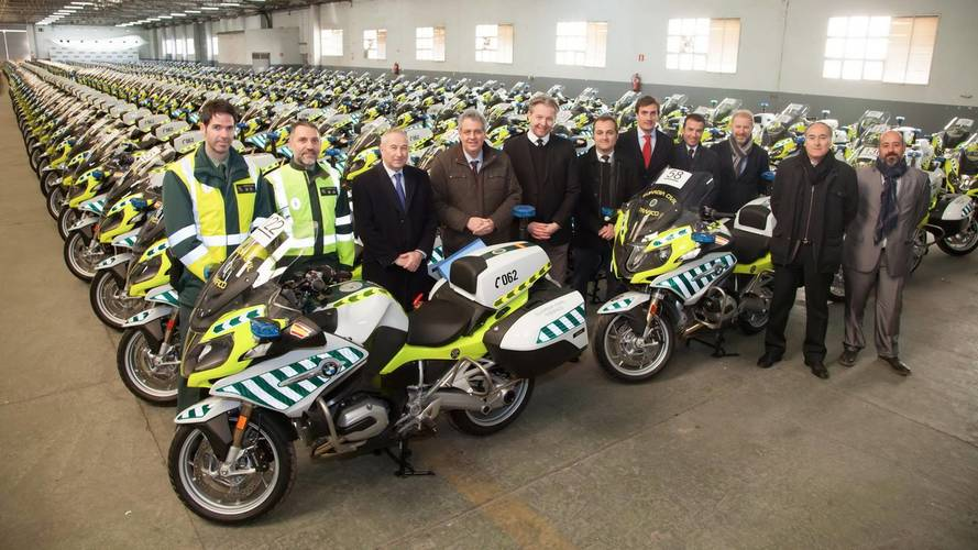 BMW Motorrad entrega 291 BMW R 1200 RT a la Guardia Civil