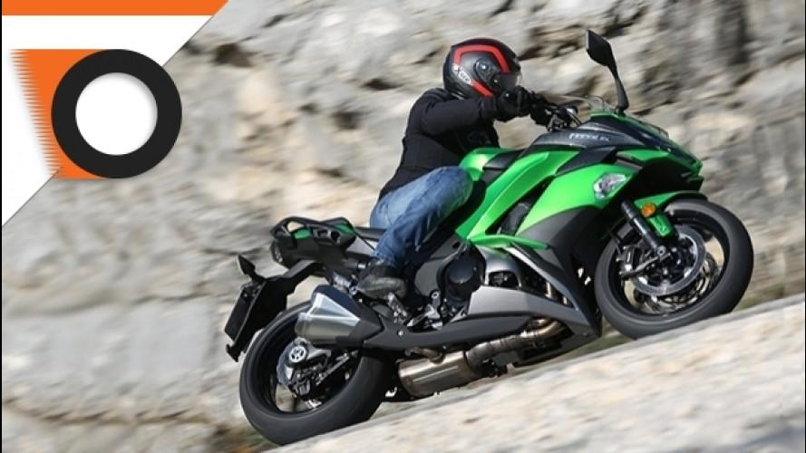 Kawasaki Z1000SX 2017, la sportiva da viaggio