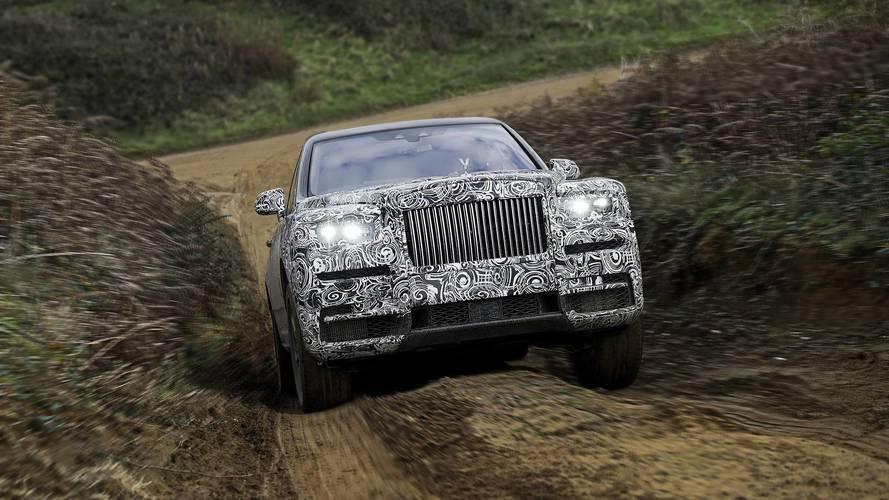 """Rolls-Royce confirma nome Cullinan para o """"SUV mais luxuoso do mundo"""""""
