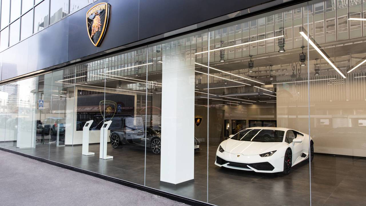 Lamborghini, Paris, Concession, Showroom