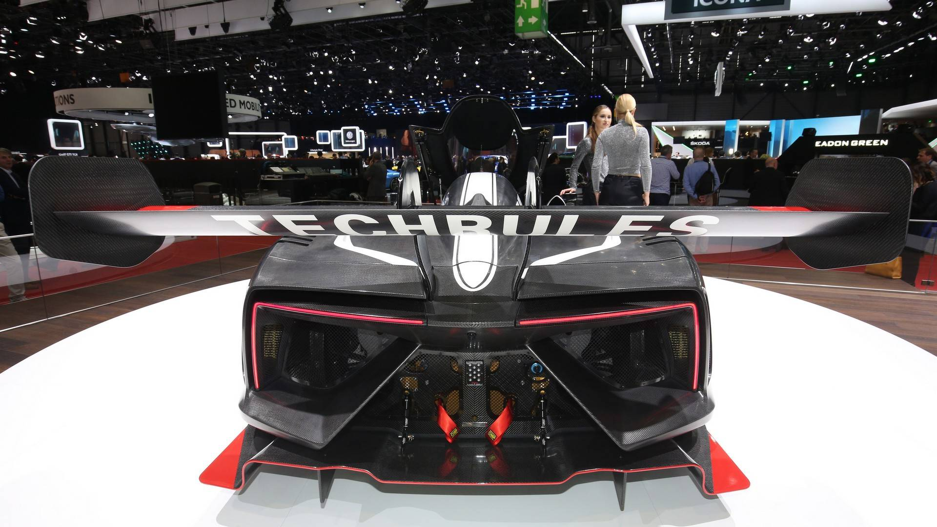 Turbine-Powered Techrules Ren RS Live From Geneva Motor Show
