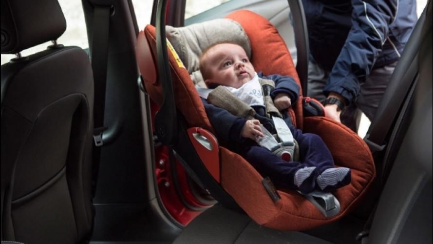 Bambini in auto, i seggiolini Cybex premiati per la sicurezza