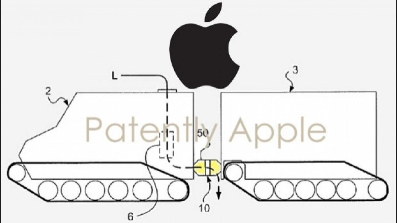 [Copertina] - Apple, depositato un brevetto per un autoarticolato