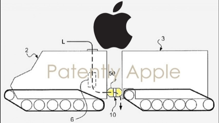 Apple, depositato un brevetto per un autoarticolato