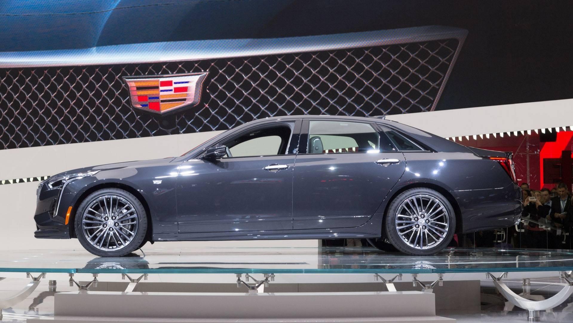 Cadillac CT6-V Twin-Turbo 4 2-liter V8 Engine Named 'Blackwing'