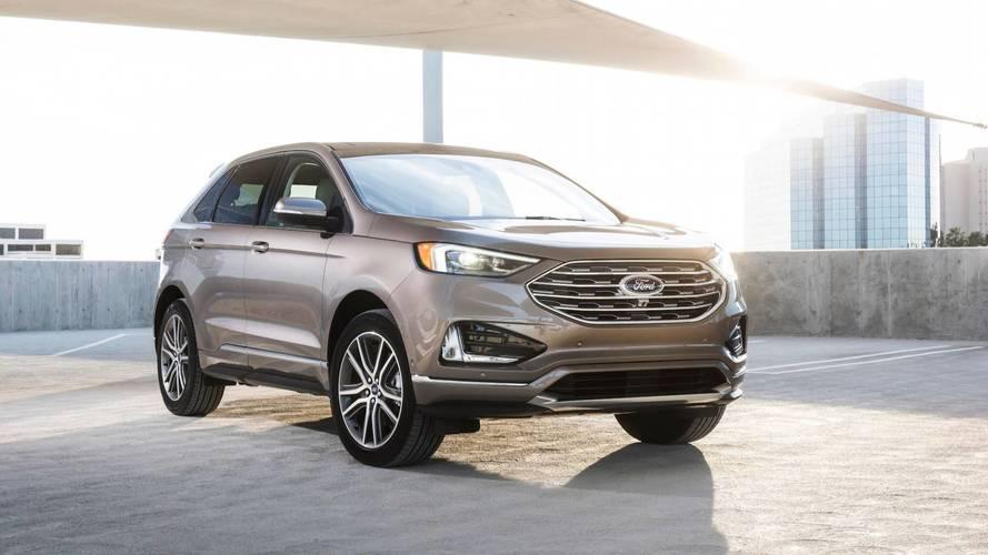 Ford Edge 2019 terá nova versão Titanium Elite