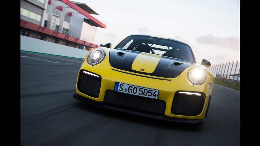 Salone di Francoforte: Porsche 911 GT2 RS, la più potente