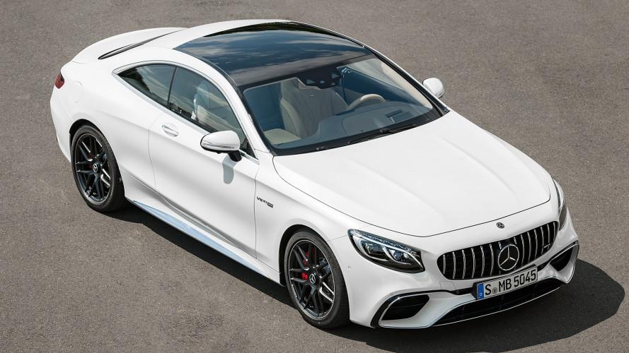 Mercedes Classe S Coupé restyling, più tecnologia e 4x4