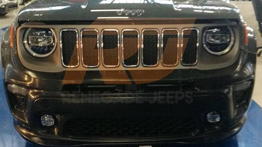 2019 Jeep Renegade Spied With Its Nose Undisguised