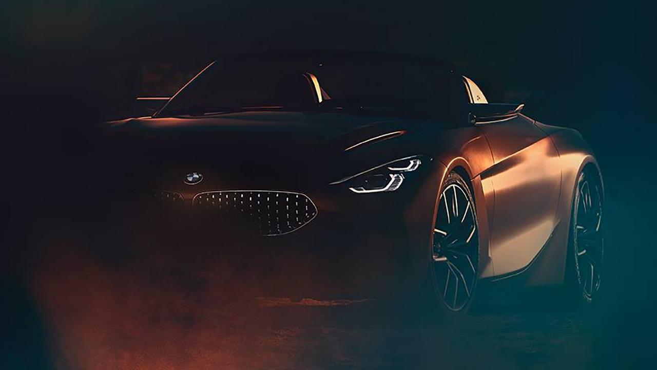 [Copertina] - BMW, nuovo teaser della roadster prima del debutto