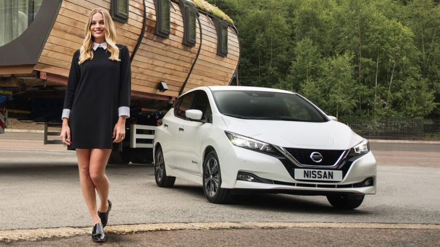 Le auto elettriche Nissan e Margot Robbie insieme per il sociale