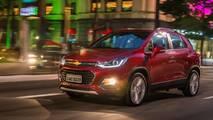 Chevrolet Tracker - 1.500 unidades por mês