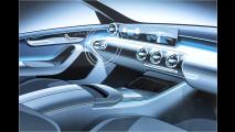 Das Cockpit der neuen Mercedes A-Klasse
