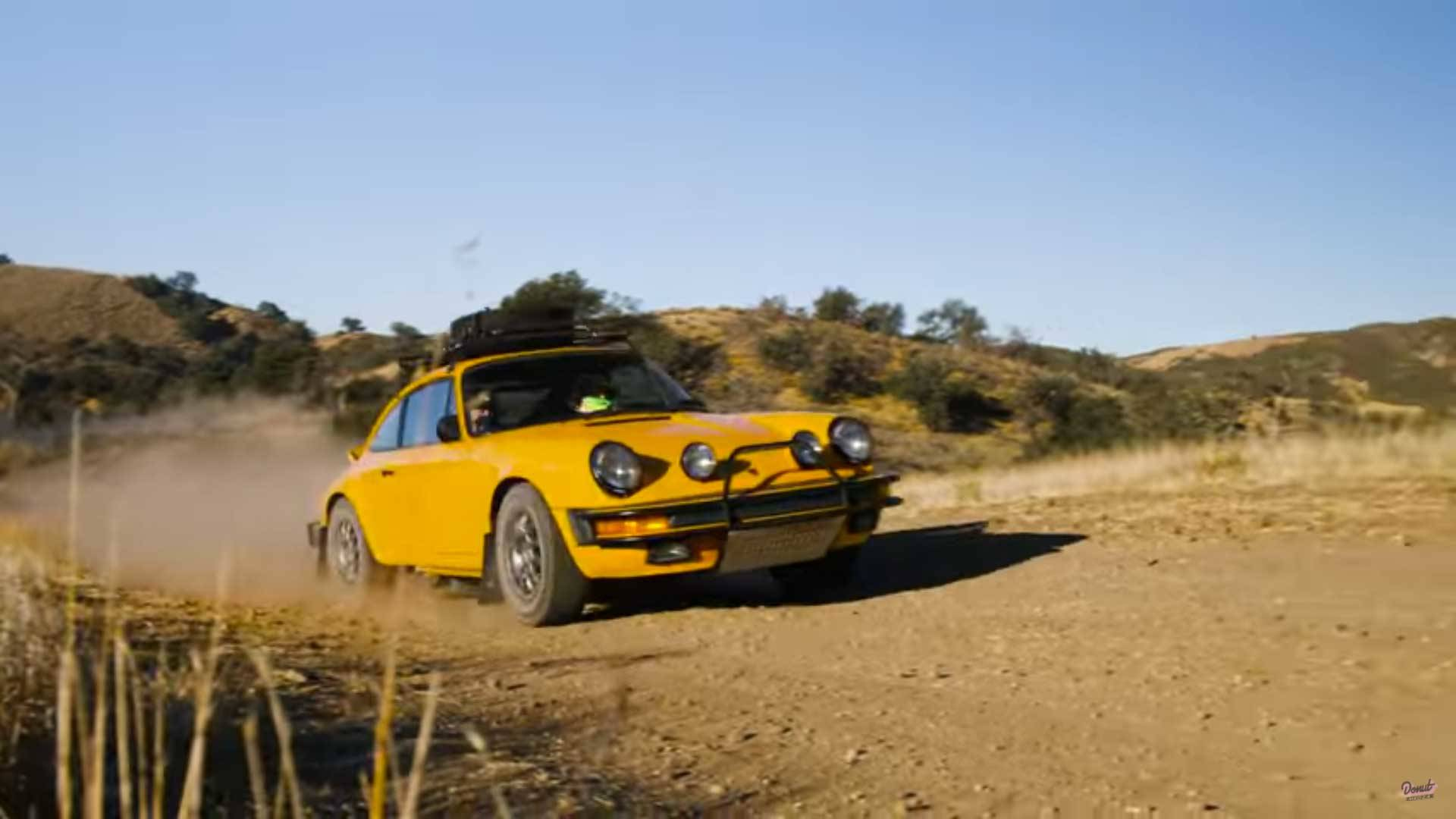 Rally Spec Porsche 911 Doesn T Mind Getting A Little Bit Dirty