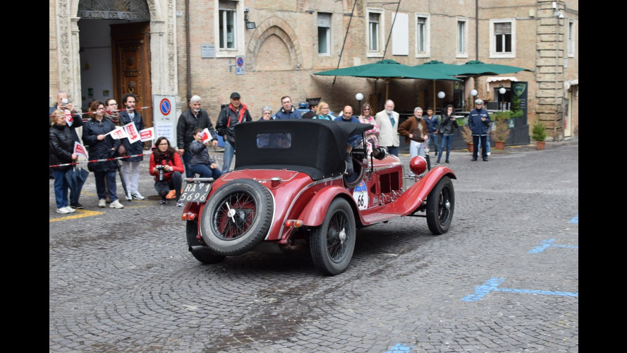 Outside Mille Miglia, la sfilata tra le bellezze di Roma! [VIDEO]