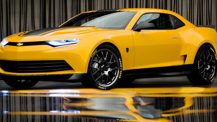 2014 Camaro Bumblebee Concept for Transformers 4 revealed