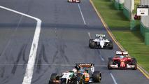 Nico Hulkenberg (GER) Sahara Force India F1 VJM07, 2014 Australian Grand Prix