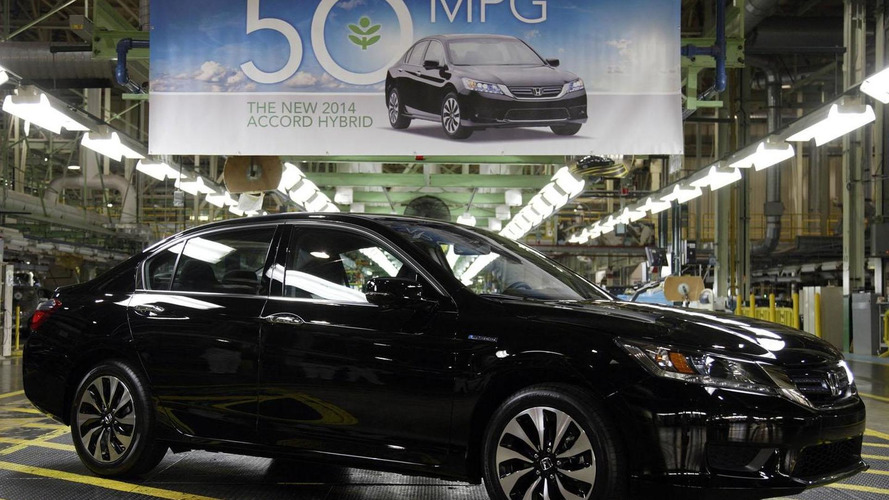 Honda Accord Hybrid goes into production, returns up to 50 mpg