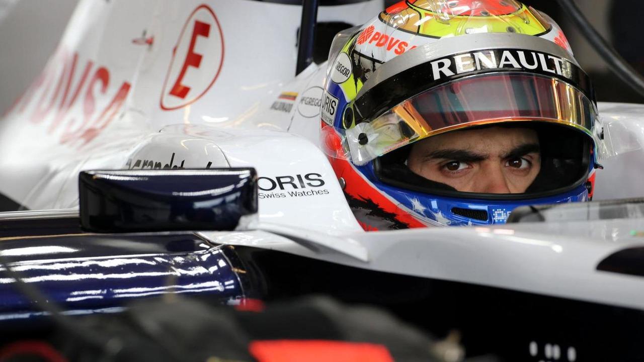 Pastor Maldonado 16.11.2013 United States Grand Prix