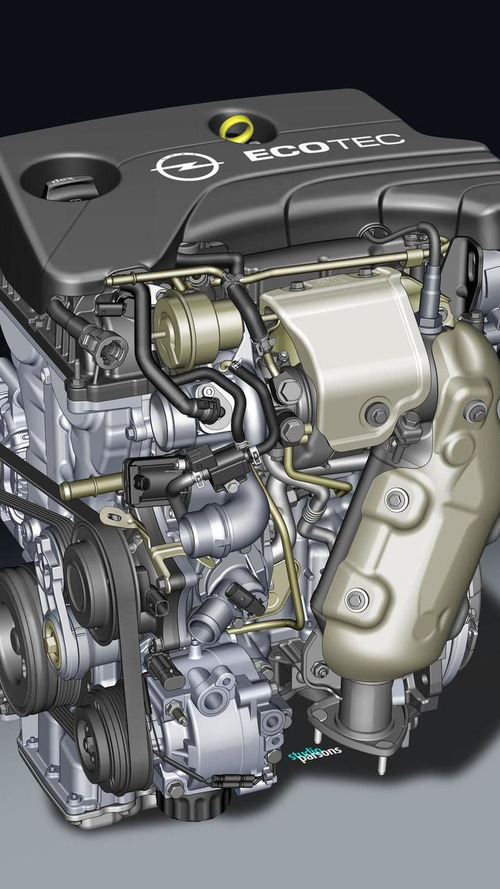 Opel introduces a turbocharged 1.0-liter three-cylinder engine, will debut in the Adam