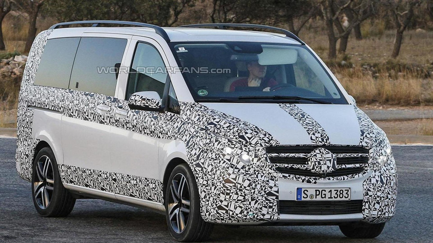 2014 Mercedes V-Class spied yet again, will replace the Viano