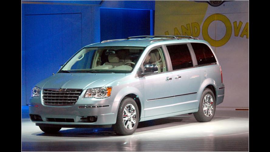 Chrysler Voyager: Raum-Reise in die Zukunft hat begonnen
