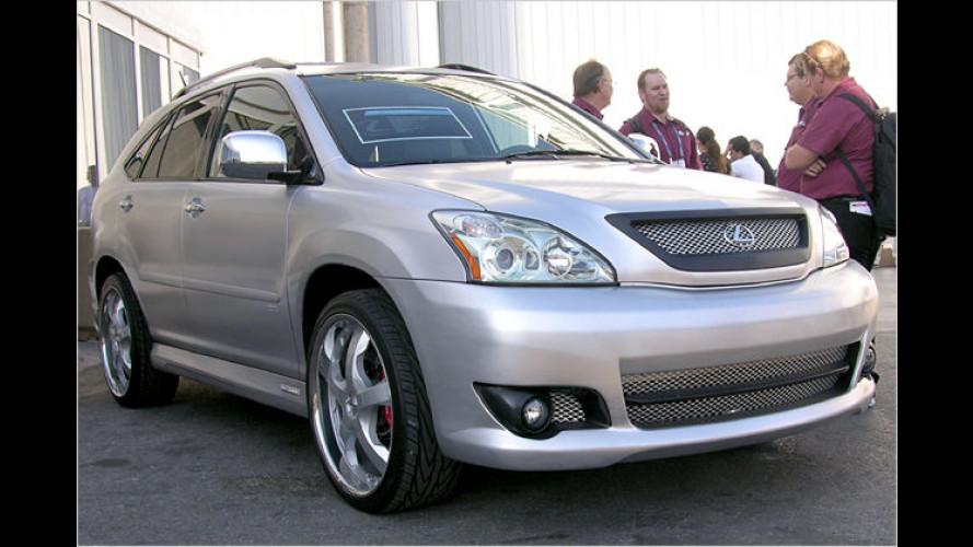 SEMA 2007: Toyota- und Lexus-Tuning auf der amerikanischen Kultmesse
