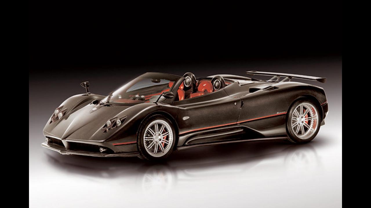 Pagani Zonda C12 F Roadster: 3,6 sec