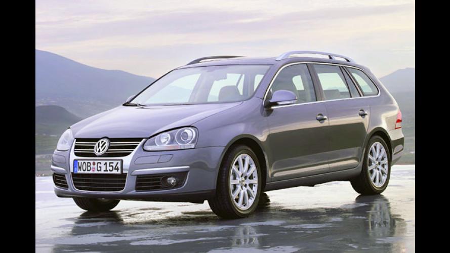 Volkswagen erhöht die Preise für vier Modellreihen