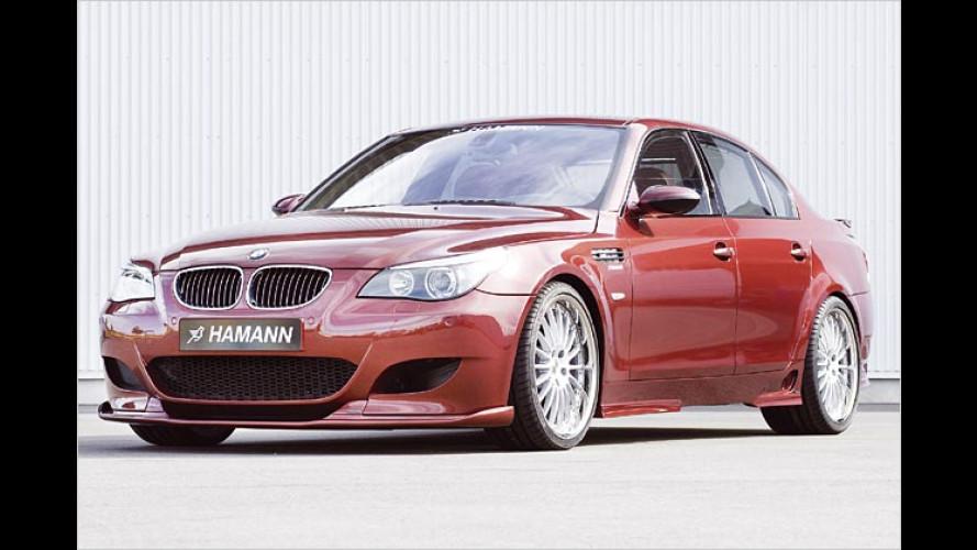 Willkommen im 300-km/h-Club: Hamann tunt den BMW M5