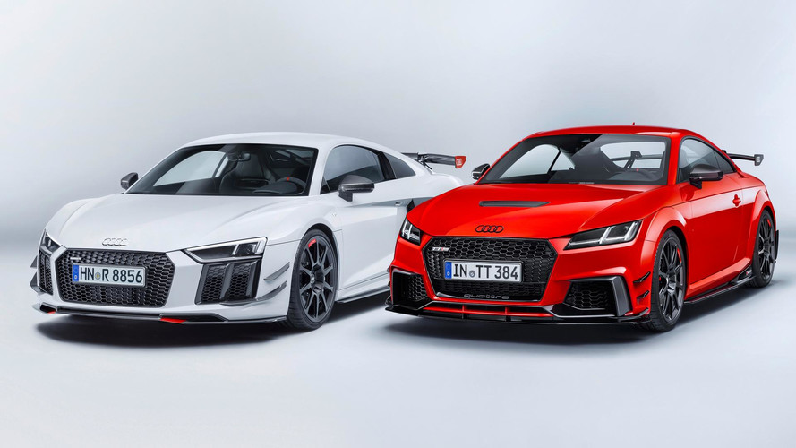 Audi Sport Lives Up To Its Name With Performance Parts For R8 Tt