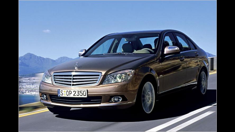 Gute Noten für Mercedes C-Klasse im US-Crashtest
