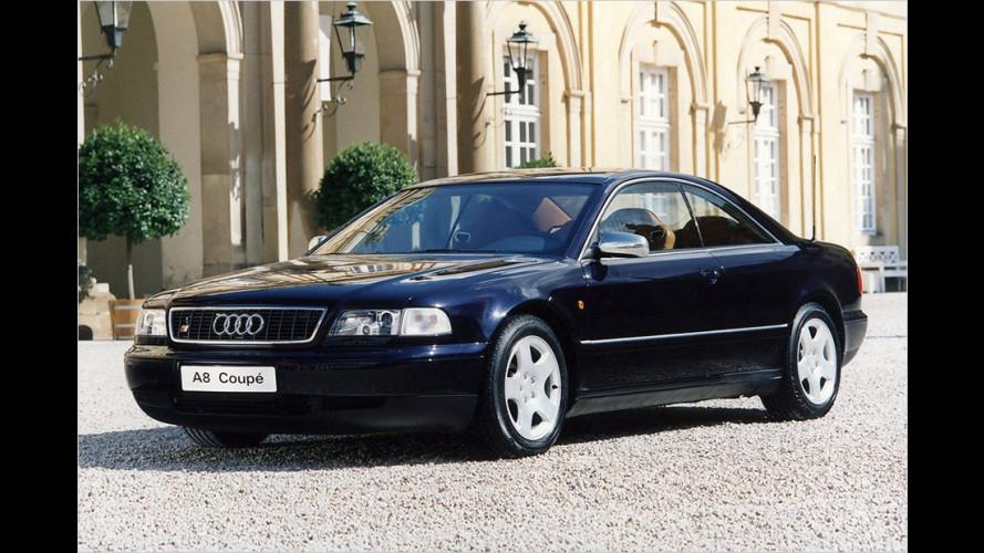 Audi A8 Coupé: Wer kennt nochh den  traumhaften Zweitürer?