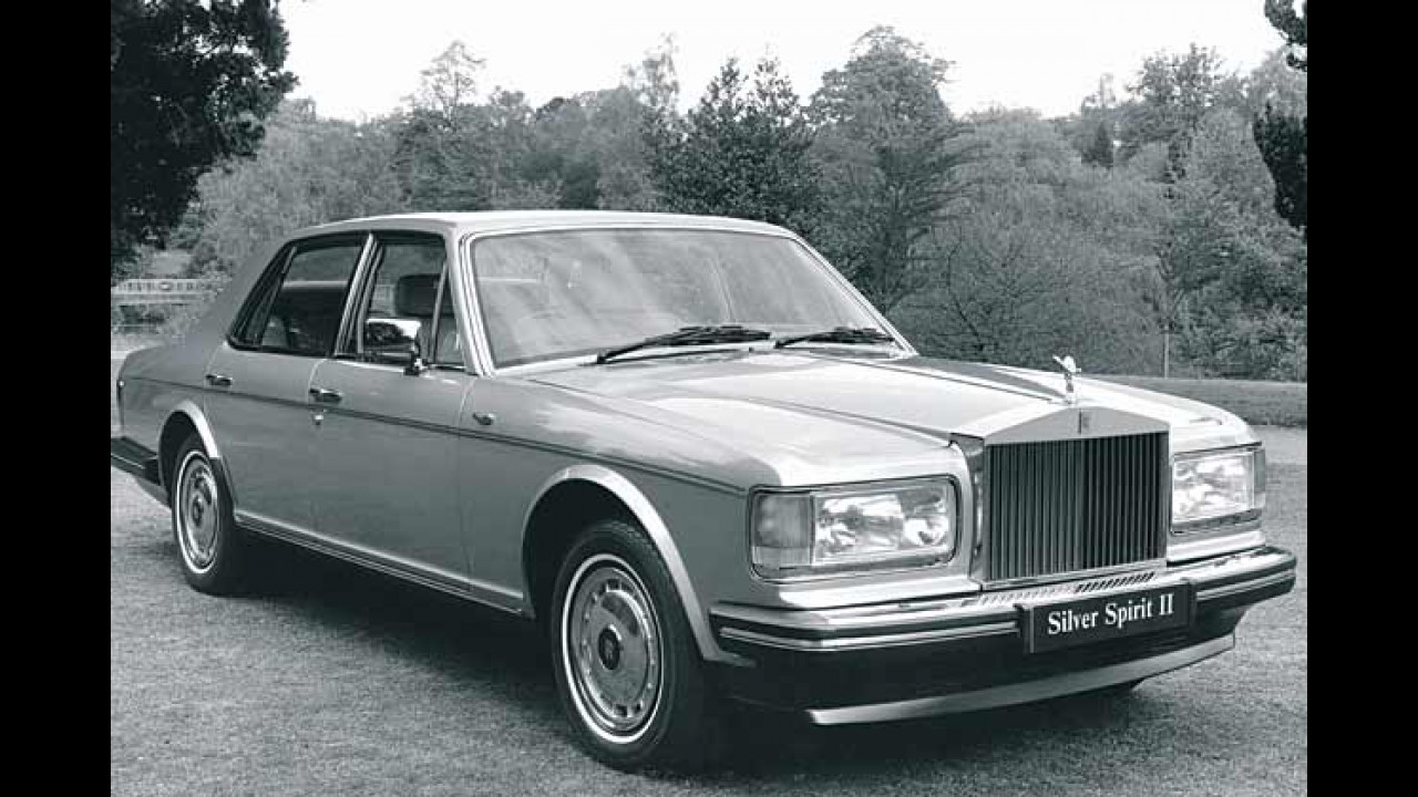 Rolls-Royce Silver Spirit, 1980-1989