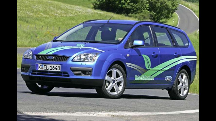 Ford fahren mit Alkohol: Focus mit Bio-Ethanol-Antrieb