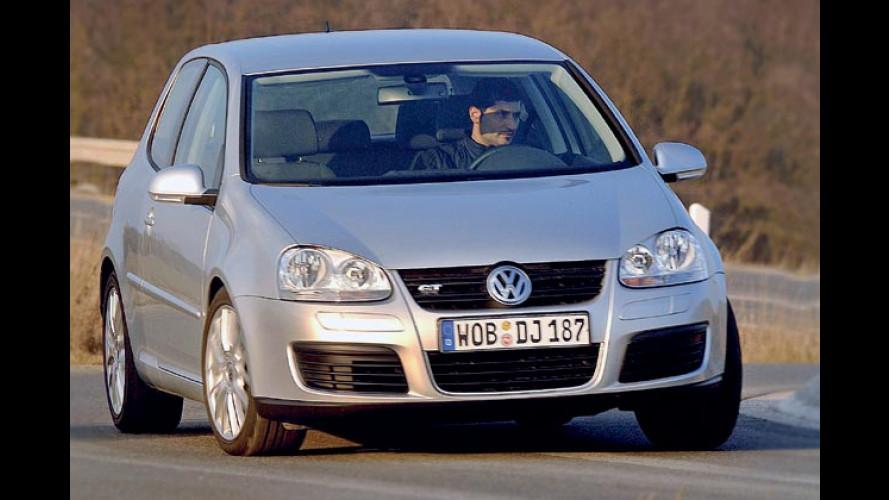 VW Golf GT und Touran (2006): Neue Twincharger-Motoren im Test