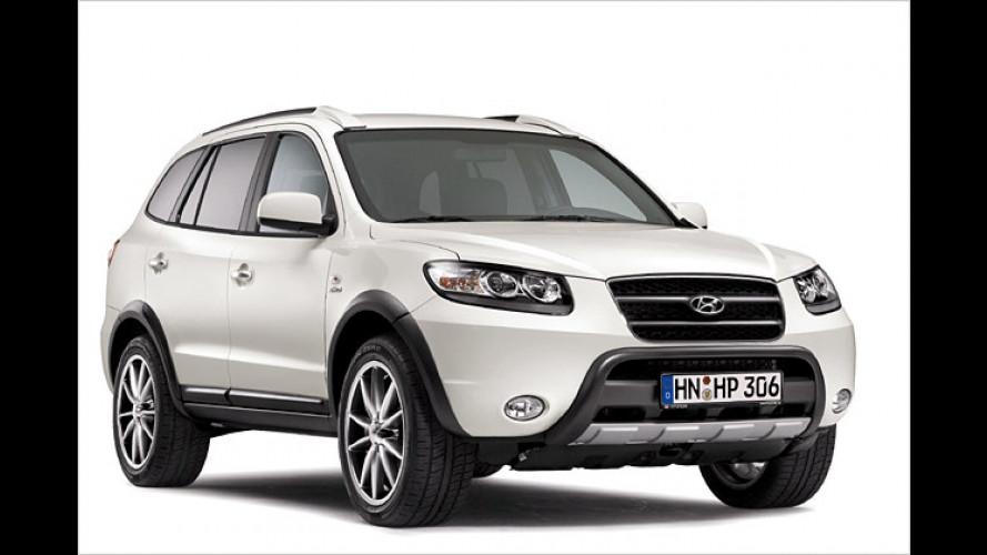 Sondermodell made in Korea: Hyundai Santa Fe Vanilla White