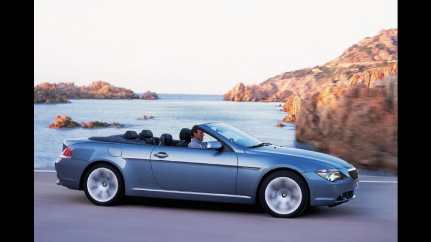 BMW 645Ci: Superleichtes Cabrio kommt jetzt auf den Markt