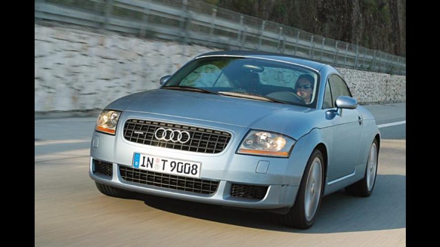 Audi TT 3.2 quattro: Mit Handschaltung sechsgängig voran